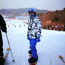 цена на Ski Suit Men Winter Warm Windproof Waterproof Outdoor Sports Snow Jackets and Pants Hot Ski Equipment Snowboard Jacket Men Brand