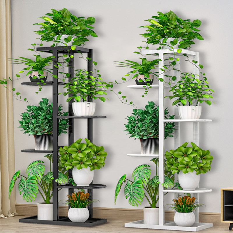 Landing Type Green Luo Airs Multi-storey Indoor Pylons Household Balcony Iron Art Of Shelf A Living Room Flowerpot Frame