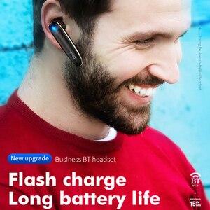 Image 2 - HOCO Mini Bluetooth Kopfhörer mit Mikrofon Wireless Headset für iPhone Unsichtbare Ohrhörer Musik in ohr Haken Freisprecheinrichtung für Auto