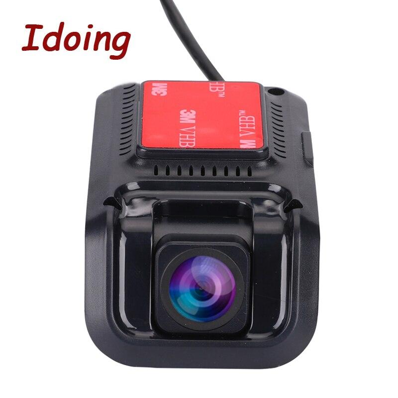 USB 2.0 كاميرا أمامية مسجل فيديو رقمي كاميرا DVR ADAS EDOG 1080P HD أندرويد 5.1 أندرويد 6.0/7.0/8/1/9.0/10.0