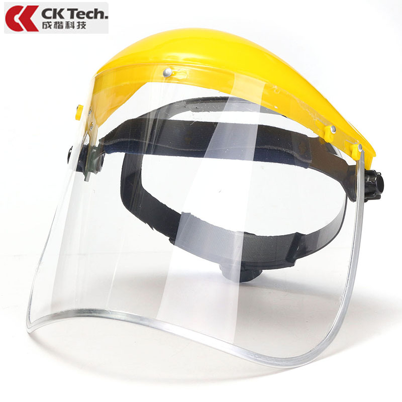 39x20x12cm Transparent PVC Splash-proof Smoke-proof Mask Safety Mask Screen Spare Mask Mask Eye Mask Protection