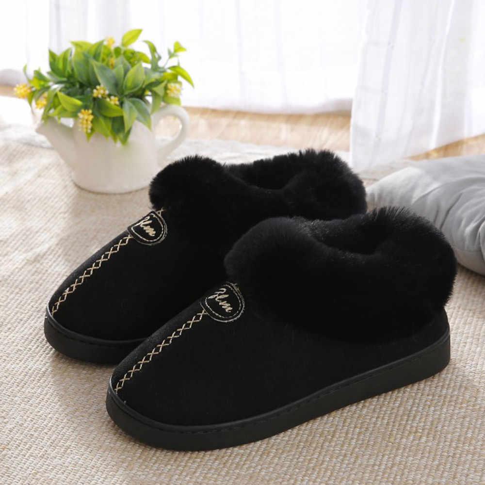 Botas de nieve para el tobillo botas de invierno con plataforma cálida con zapatos de piel sintética bonitos antideslizantes en el interior de la pareja botas Mujer talla grande
