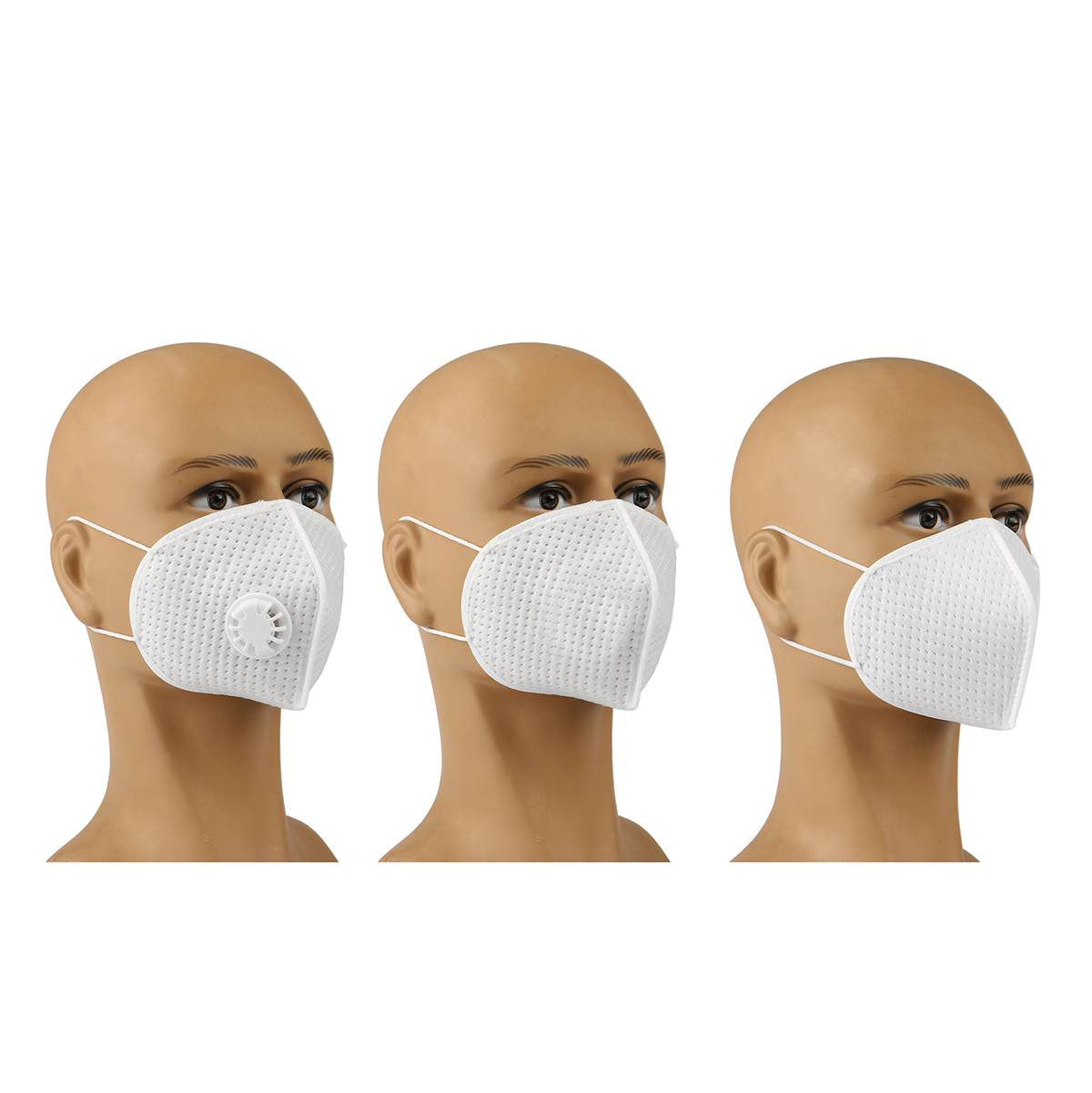 Reusable N95 Mask with Respirator Valve in Thicken Layers Design for Protection from Flu and Virus 8