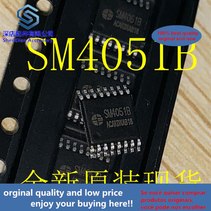 10pcs 100% Orginal And New SM4051B TSSOP16 Best Qualtiy
