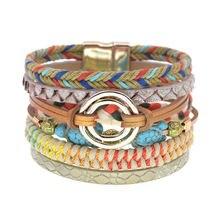 Женский браслет с магнитной застежкой модный браслеты ручной