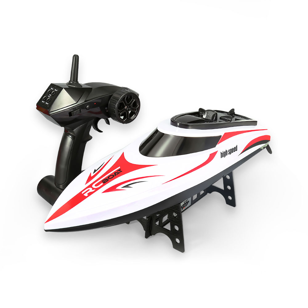 H830 RC Boat 25km/h High Speed Fast Ship With Cooling Water System Retreat and Saliboat Reset Waterproof RC Boats Toys Gifts