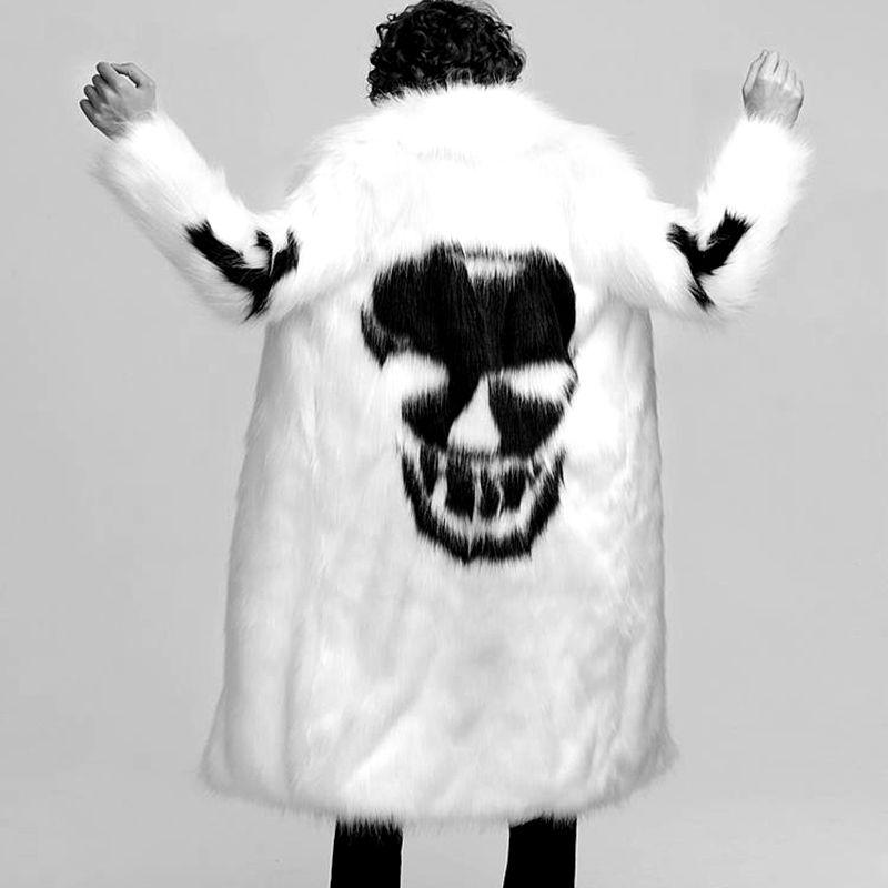 Новый осенний и зимний свободный Зимний толстый пуховик, Толстая черная мужская одежда - 5