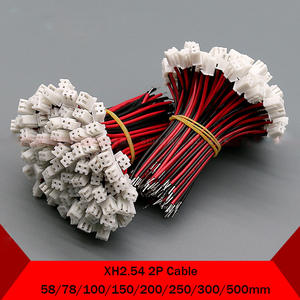 Connector 2P Wire-Cable 20AWG XH 26awg-Length 1pcs 100mm