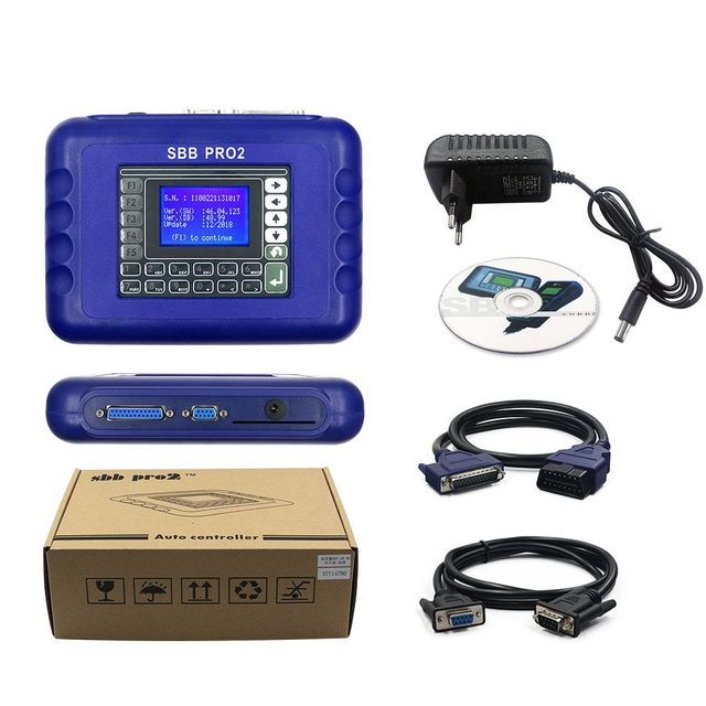 2019 Super SBB PRO2 Key Programmer V48.99 Support New Cars Up To 2017 Update Of SBB V48.88 V46.02 No Tokens SBB PRO 2 48.99