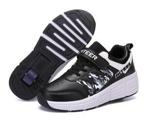 Image 2 - EUR 31 42 ילדי Junior רולר סקייט נעלי ילדים סניקרס עם אחד/שני 2020 בני בנות נעלי גלגלים למבוגרים מזדמנים נערי נעליים