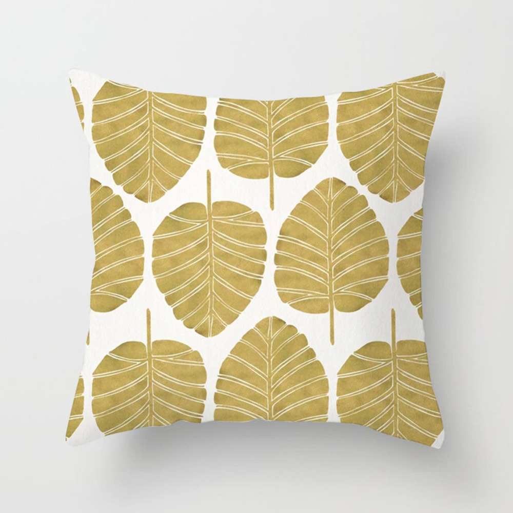 Tropical Leaf Cactus Monstera Cushion Cover Polyester Throw Pillows Sofa Home Decor Decoration Decorative Pillowcase 40506-1 (9)