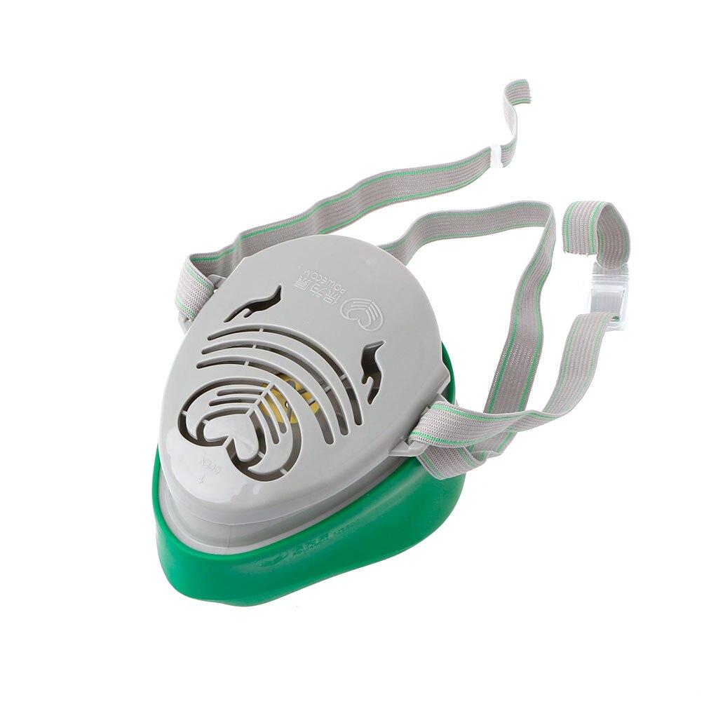 Drop Ship N3800 Anti-Dust Facepiece Filter Paint Spraying Cartridge Respirator Gas Mask