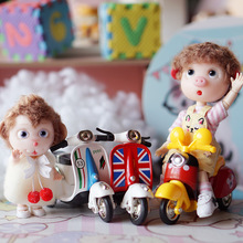 Toy Motorcycle Bjd-Doll-Accessories Ob11 Mini for 1/12 1PCS Car Photo-Prop Creative Cute