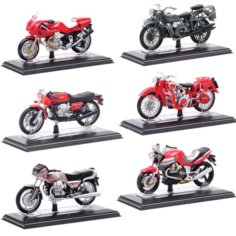 1/22 Scale Starline Italeri Moto Guzzi V7 V11 Falcone Galleto Breva Normale Corsa Griso Motorcycle Diecasts & Toy Vehicles Model