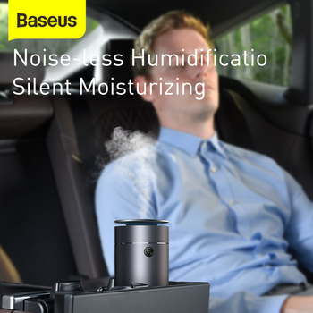 Car Air Purifier Humidifie Auto Aroma Diffuser Essential Oil Car Air Freshener Nano Disinfectant Diffuser For Car Home 2