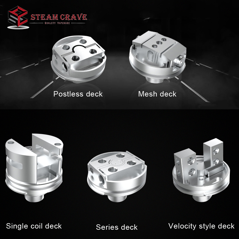 Steam Crave Aromamizer Plus V2 RDTA  Single Coil Deck For Aromamizer Plus V2 RDTA Tank Atomizer Electronic Cigarette Accessories