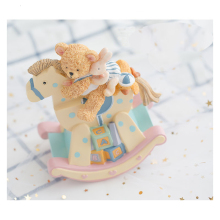 New music box love baby love child Canon DVD bear music painting hand-cranked Christmas gift birthday gift