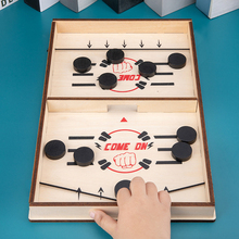 New 10 Pieces Foosball Winner Board Game Bounce Chess Parent-Child Interactive Chess Bounce Toy