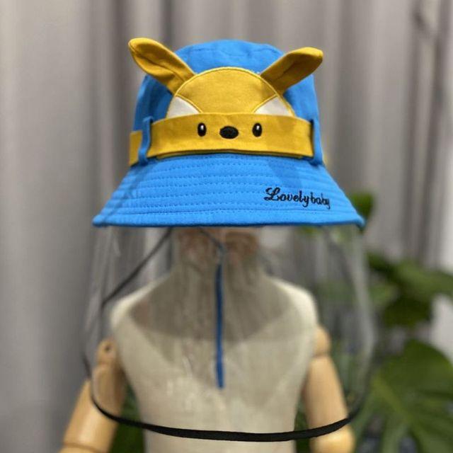 Child Anti-saliva Dust-proof Full Face Protective Cover Mask Visor Shield 634B 4
