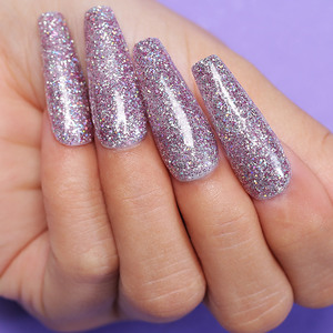 Image 4 - Azure Beauty 30Pcs/Lot Dipping Powder Full Set Glitter Gradient Color Nail Dip Powder Base Top Gel Activator Brush Saver Set
