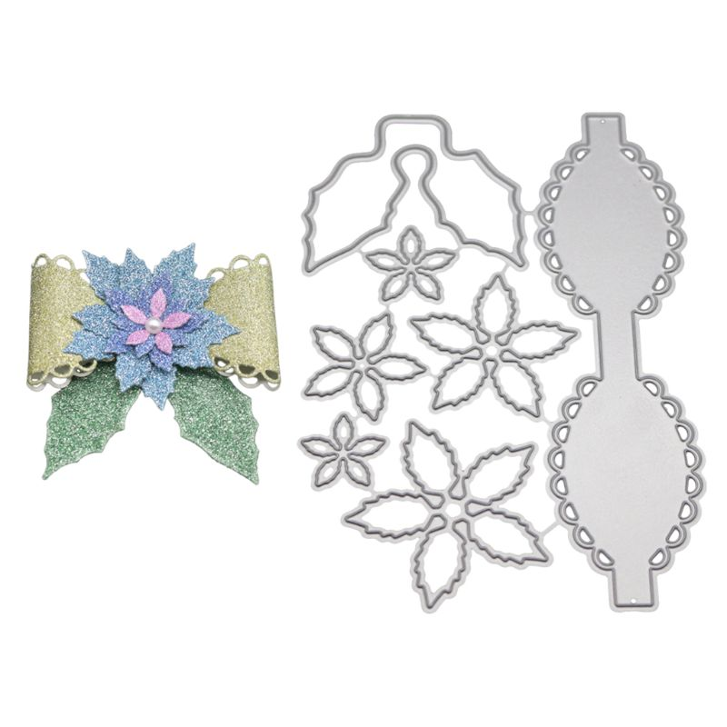 Bow Flower Metal Cutting Dies Stencil DIY Scrapbooking Album Stamp Paper Card Embossing Craft Decor 57BB Cutting Dies  - AliExpress