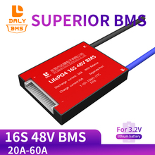 LiFePO4 BMS 16s 48V 30A 40A 50A 60A 18650 Lithium Battery Protection Bms Pcm Ebike Temp.  Sensor Optional