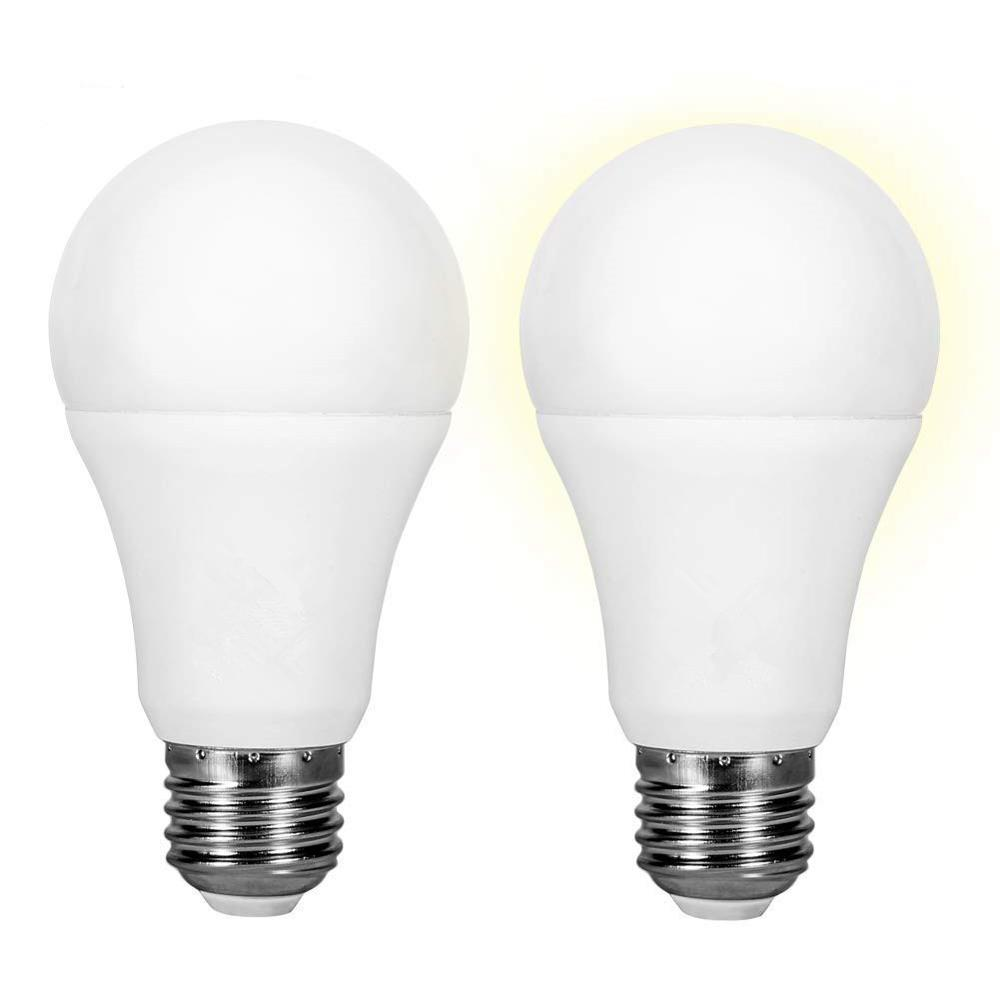 Led E27 Smart Lighting Led Bulb Led E27 Bulb Sensor Lamp Dusk To Down Light  Automatic On / Off Indoor/Outdoor Night Light