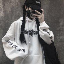 Moletom com capuz de manga longa com capuz ulzzang harajuku hoodie hoodie hoodie hoodie hoodie de hip hop