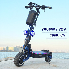 цена на SpeedBike 72V 7000W Electric Scooter with Dual Motor 11inch Off road On Road Nice Design scooter electrico