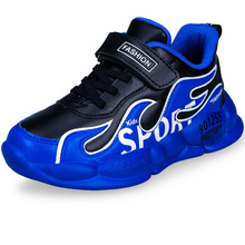 Boys Waterproof Leather Thick Sole Soft Kids Sneakers Running Shoes Children Sport Outdoor Child Boy Walking