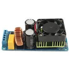 IRS2092S 500W Mono Channel Class D HIFI Power Amp Board 20Hz-20KHz practical irs2092s 500w mono channel digital amplifier class d hifi power amp board with fan