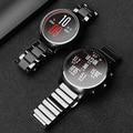 20мм 22мм Керамический ремешок для часовДля Amazfit Stratos 2 / 2S / huawei часы GTСменный ремешокДля Samsung Galaxy 46/42 мм/ Samsung Gear s2 s3 Аксессуары