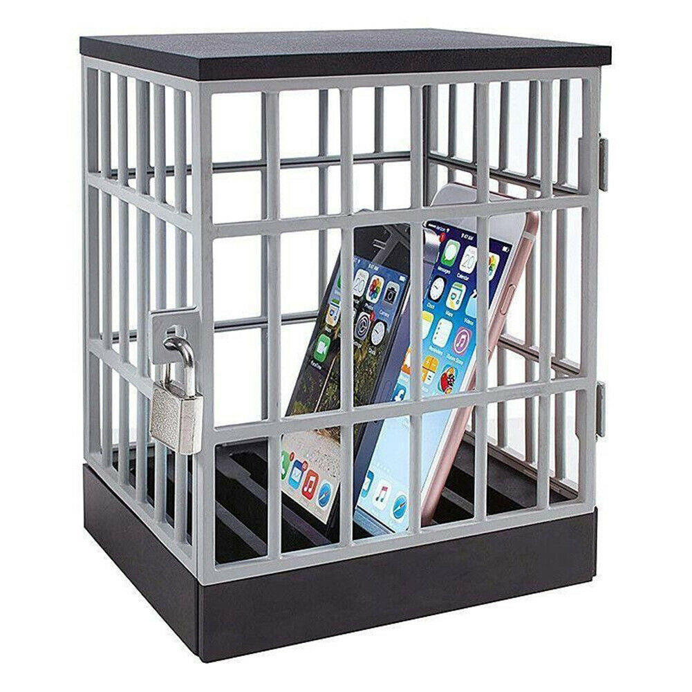 Мобильный телефон, клетка, тюрьма, блокировка, безопасный смартфон, домашний стол, офисный гаджет, качественная коробка для хранения, блокир...