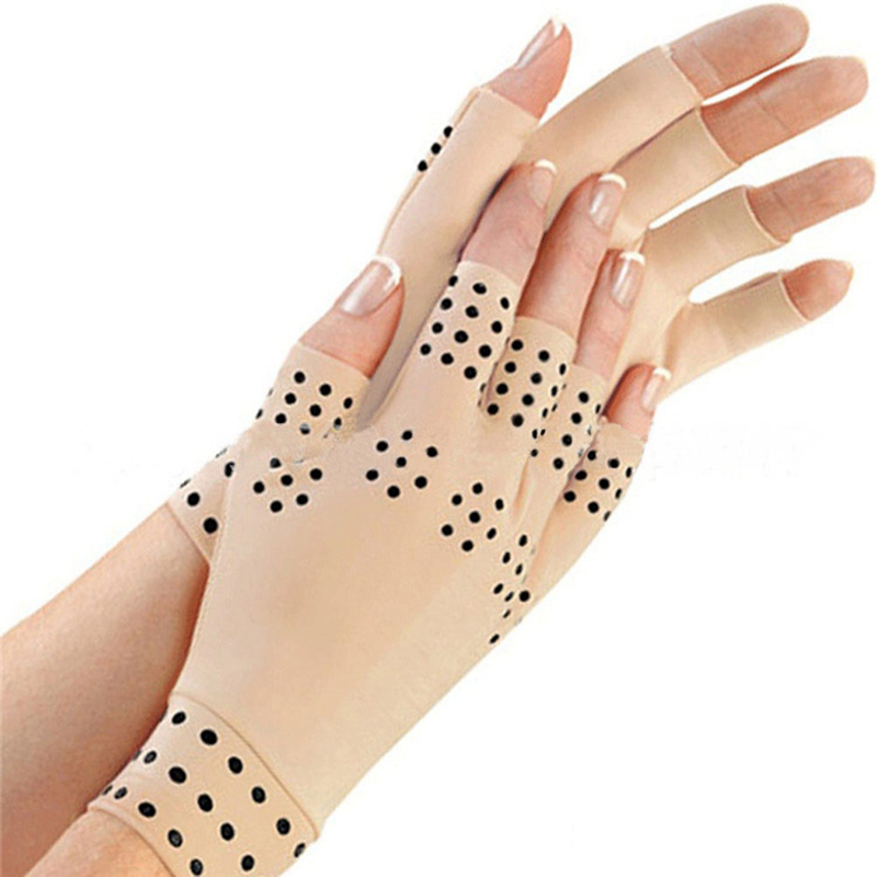 Magnetic Anti Arthritis Health Compression Therapy Gloves Fingerless Gloves Health Gloves