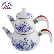 wedding decoration kitchen accessories Thick teapot coffee pot Enamel Tea Turkish mother 2.5L enamel kettle