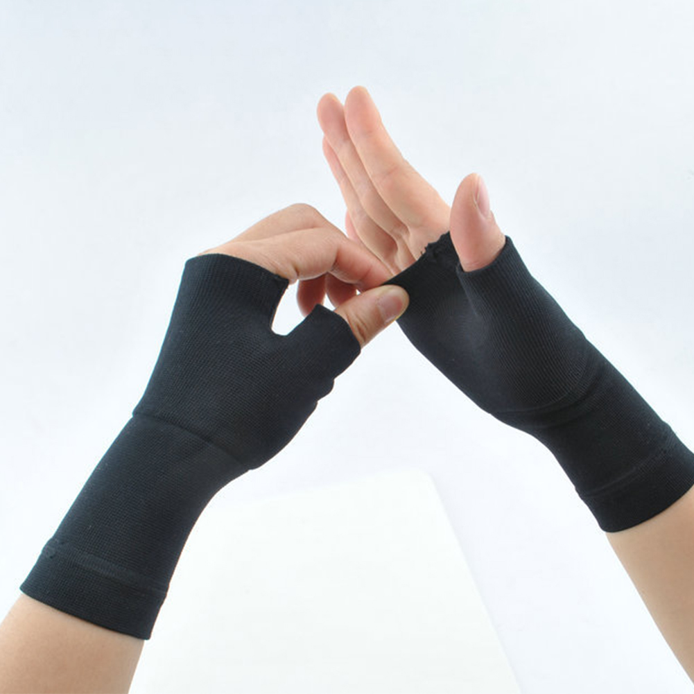 2pcs Compression Sleeve Arthritis Sprains Chinlon Gloves Tendonitis Thumb Medical Wrist Support Joint Pain Hand Instability
