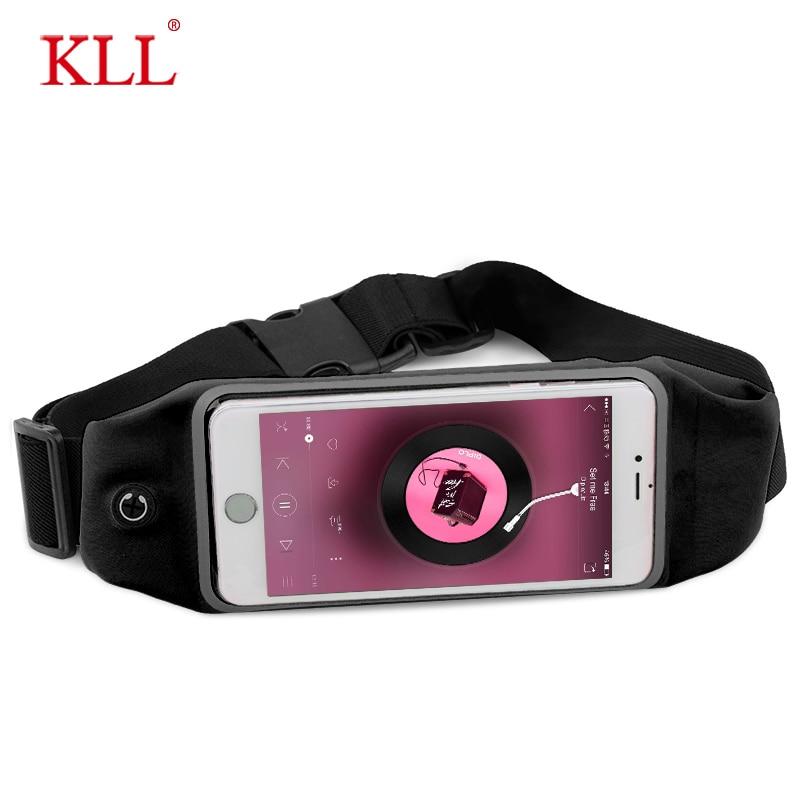 6 Inch Sports Running Waist Bag For IPhone Samsung Huawei Outdoor Jogging Belt Waterproof Phone Bag Case Gym Waist Holder Cover