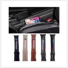 1PC Car Seat Gap Plug Stickers For BMW E46 E90 E91 E92 E93 F30 F20 E52 E53 E60 F10 F15 M3 X1 X3 X5 X6 Z4 Performance Accessories