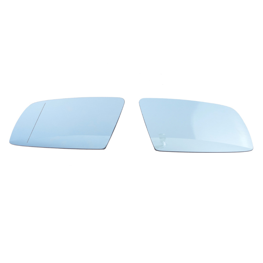 New BMW E60  E61  E63  E64  Heated Mirror Glass Right Left Set 51167065082