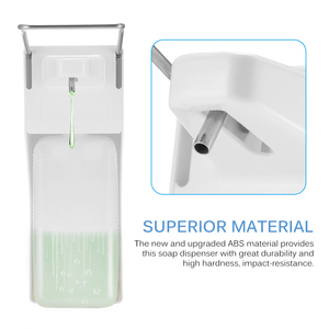 Image 3 - 1000ml Elbow Disinfection Dispenser Wall Mounted Soap Dispenser Spray Hand Sterilizer Manual Type Medical Device