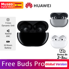 HUAWEI – FreeBuds Pro réduction Active du bruit, son ambiant, Transmission vocale transparente, connexion à double appareil, Smart Touch