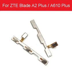 Cabo flexível de volume de energia para lâmina zte a2 plus bv0730/a610 mais power on fora do botão lado chave flex fita peças de reparo
