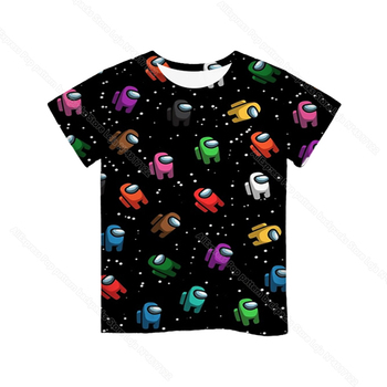 Cartoon Tee  Baby Kids Boys Girls Children Short Sleeves Summer Clothing Fashion 3d Print Toddler Camiseta 14