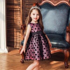 Baby Girls Dress 2020 Toddler Girls Sequin Dots Sleeveless Princess Dress Kids Dresses For Girls Birthday Party Clothes vestido