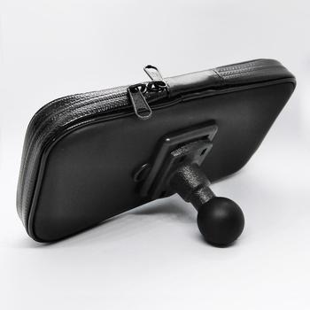 Водонепроницаемый чехол на молнии с 1 дюймовым шаровым соединением для смартфонов
