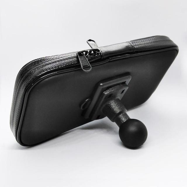스마트 폰용 1 인치 볼 연결 기능이있는 방수 지퍼 케이스
