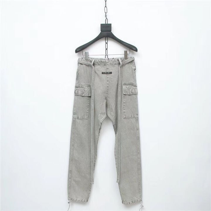 19SS Best Version Latest TOP Japan Hip-hop Justin Bieber Fog Style Men Sweatpants Fashion Cotton Shorts Leisure Trousers Pants