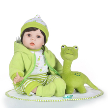 Mini Doll Look Open-Moving-Eyes Blinking Realistic Silicone Baby Soft-Body And 55cm That