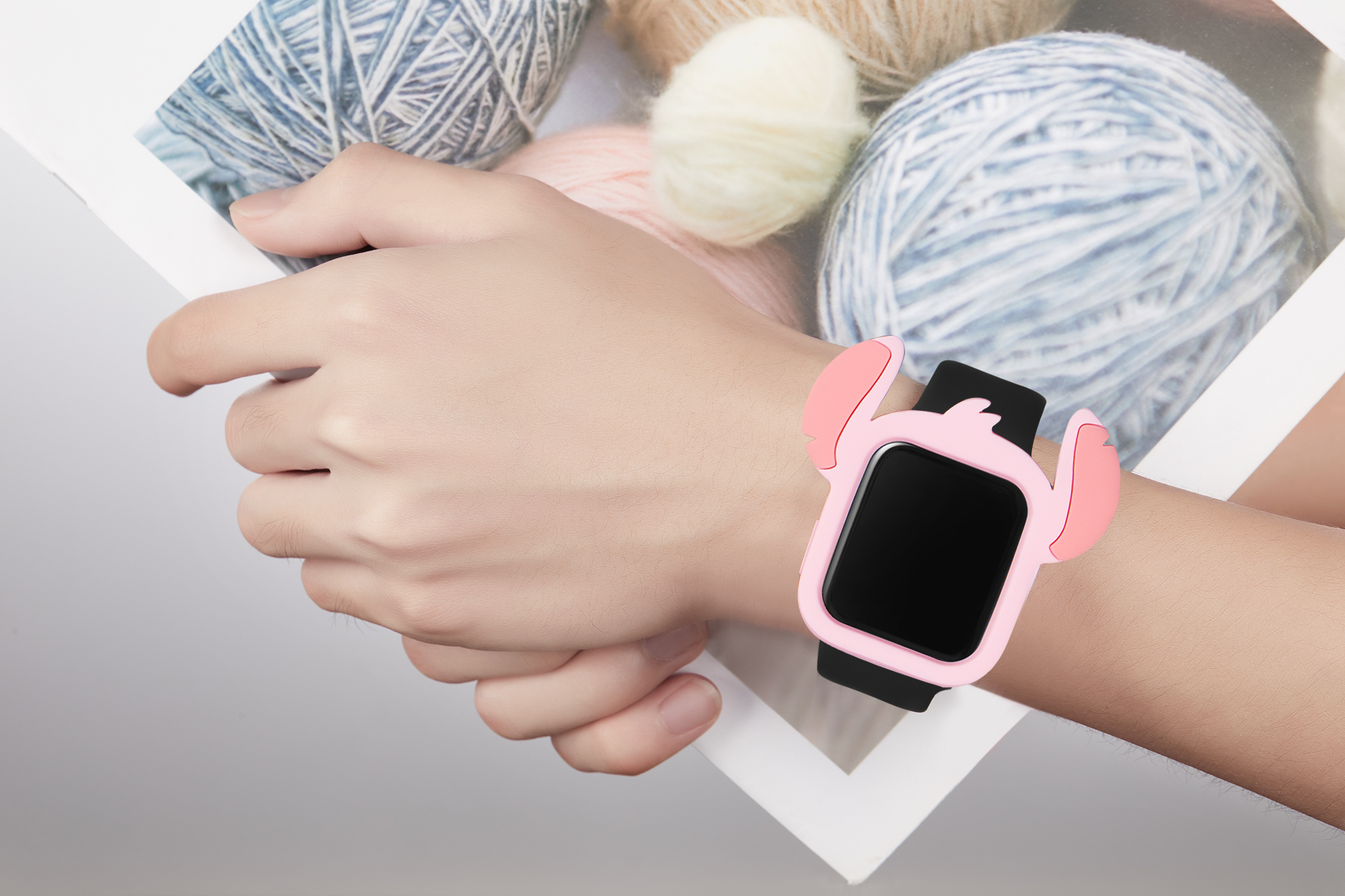 Serilabee Stitch Case for Apple Watch 19