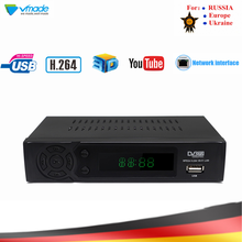 Vmade HD dijital karasal TV alıcısı DVB T2 8939 dahili ağ H.264 MPEG 2/4 TV Set Top kutusu desteği Megogo Youtube